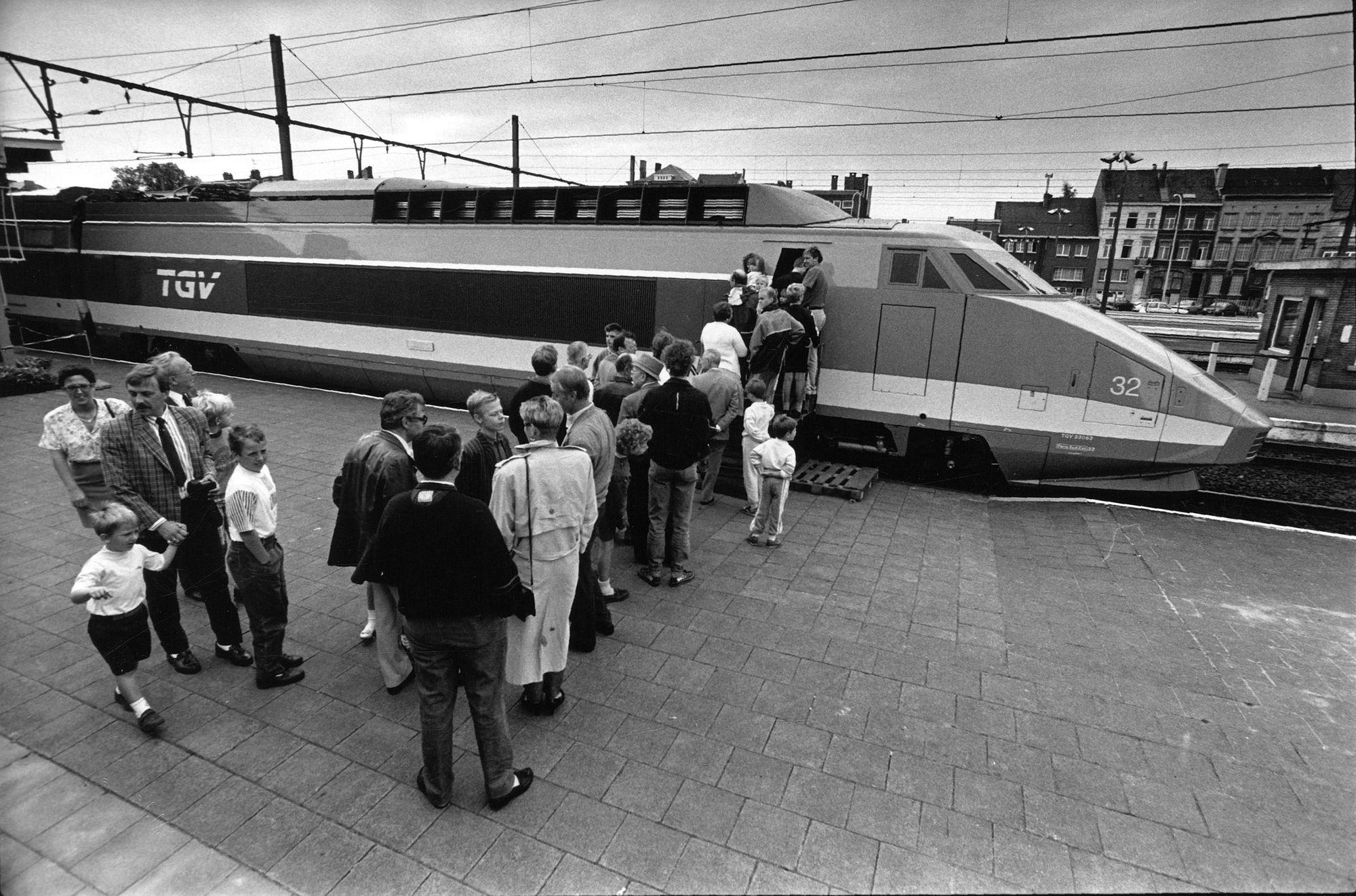 150 jaar spoorweg - TGV