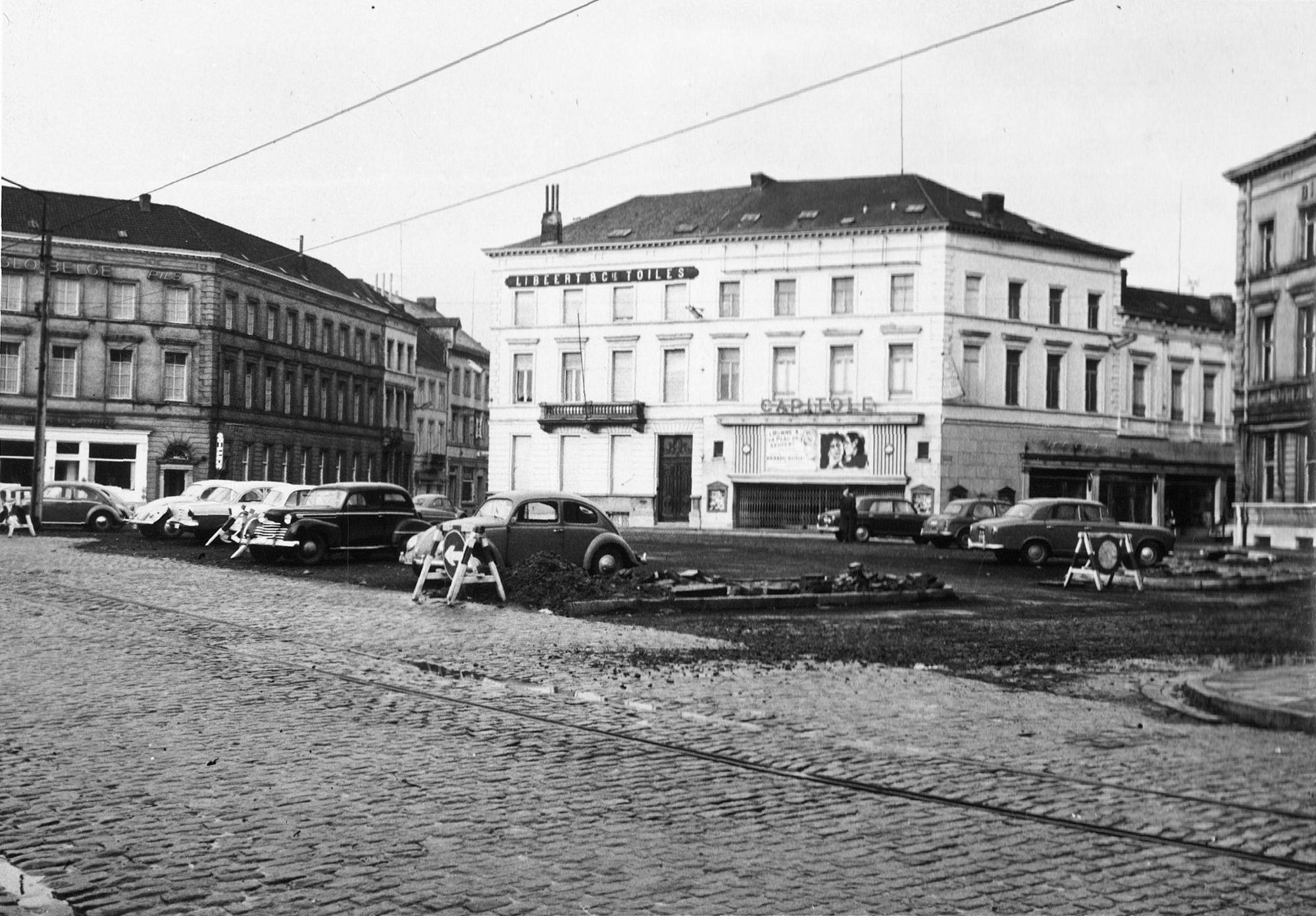 Stationsplein 1960