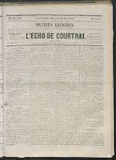 L'echo De Courtrai 1865-05-28