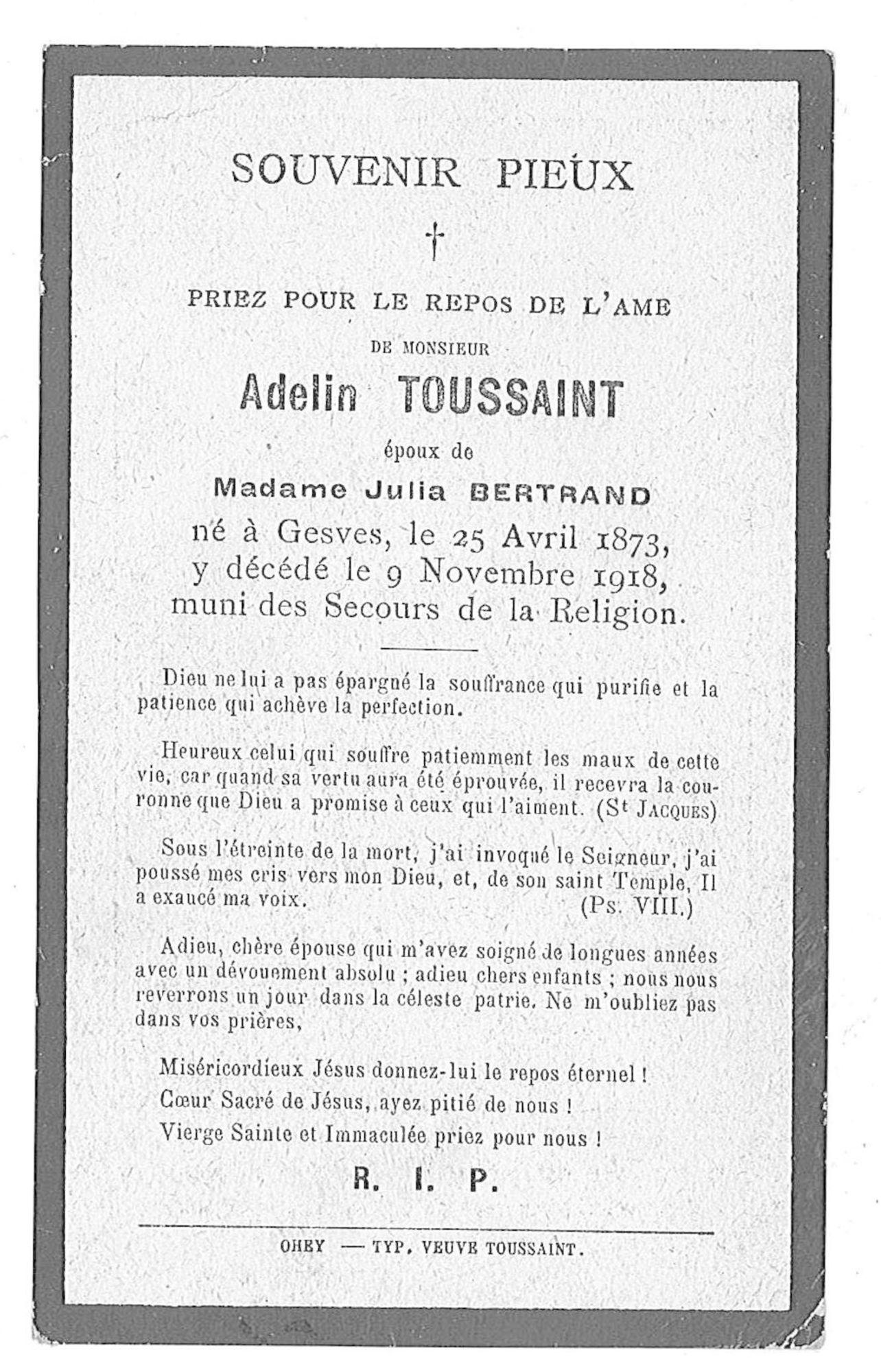 Adelin Toussaint
