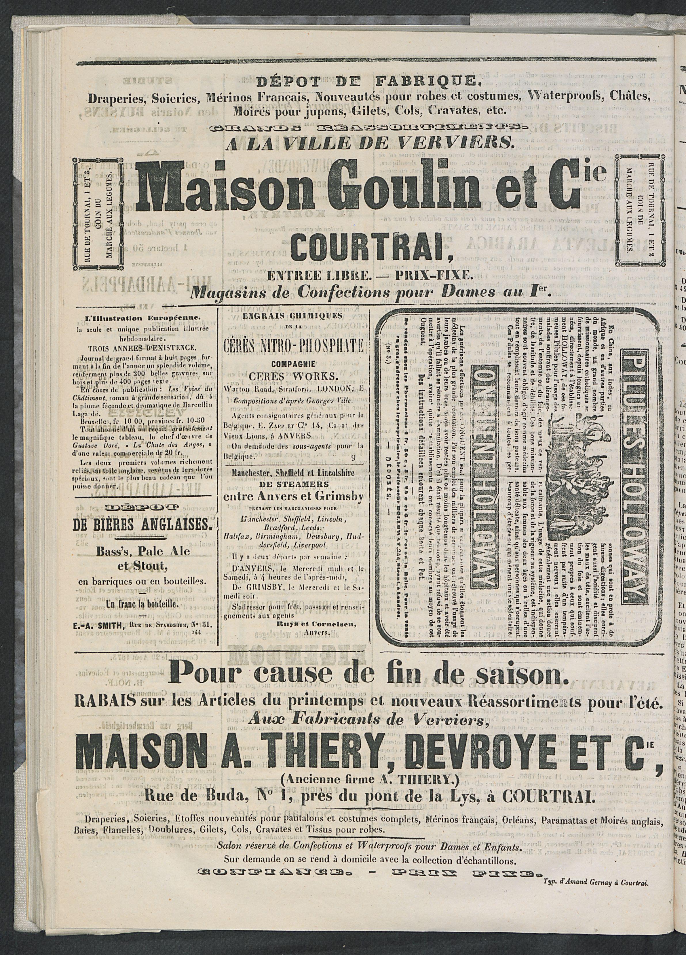 L'echo De Courtrai 1873-09-07 p6