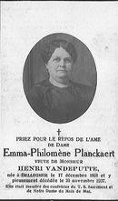 Emma-Philomène Planckaert