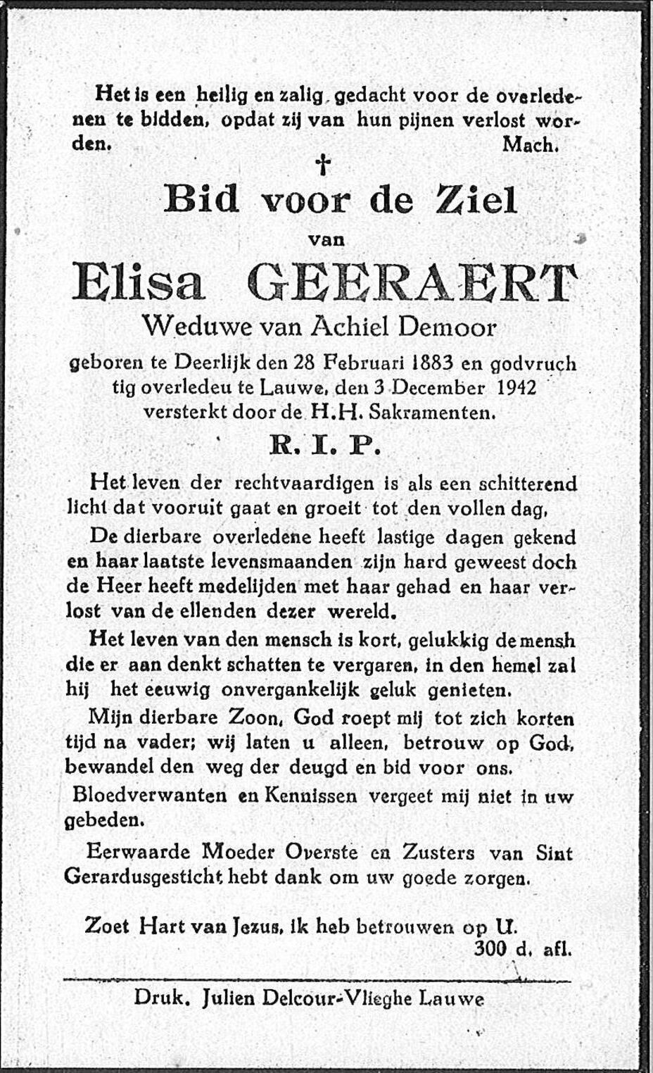 Elisa Geeraert