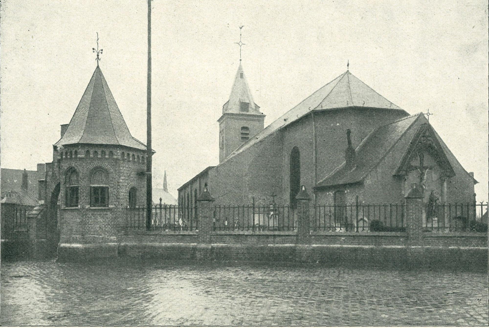 Sint-Corneliuskerk in Aalbeke