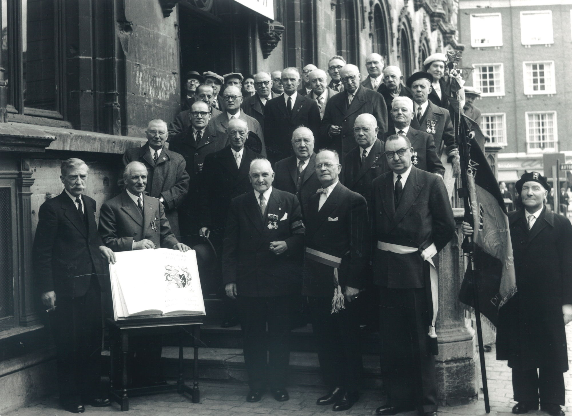 Oudstrijders 1914-1918 en 1940-1945