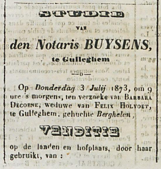 STUDIE-den Notaris BUYSENS