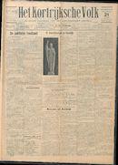 Het Kortrijksche Volk 1929-07-21 p1