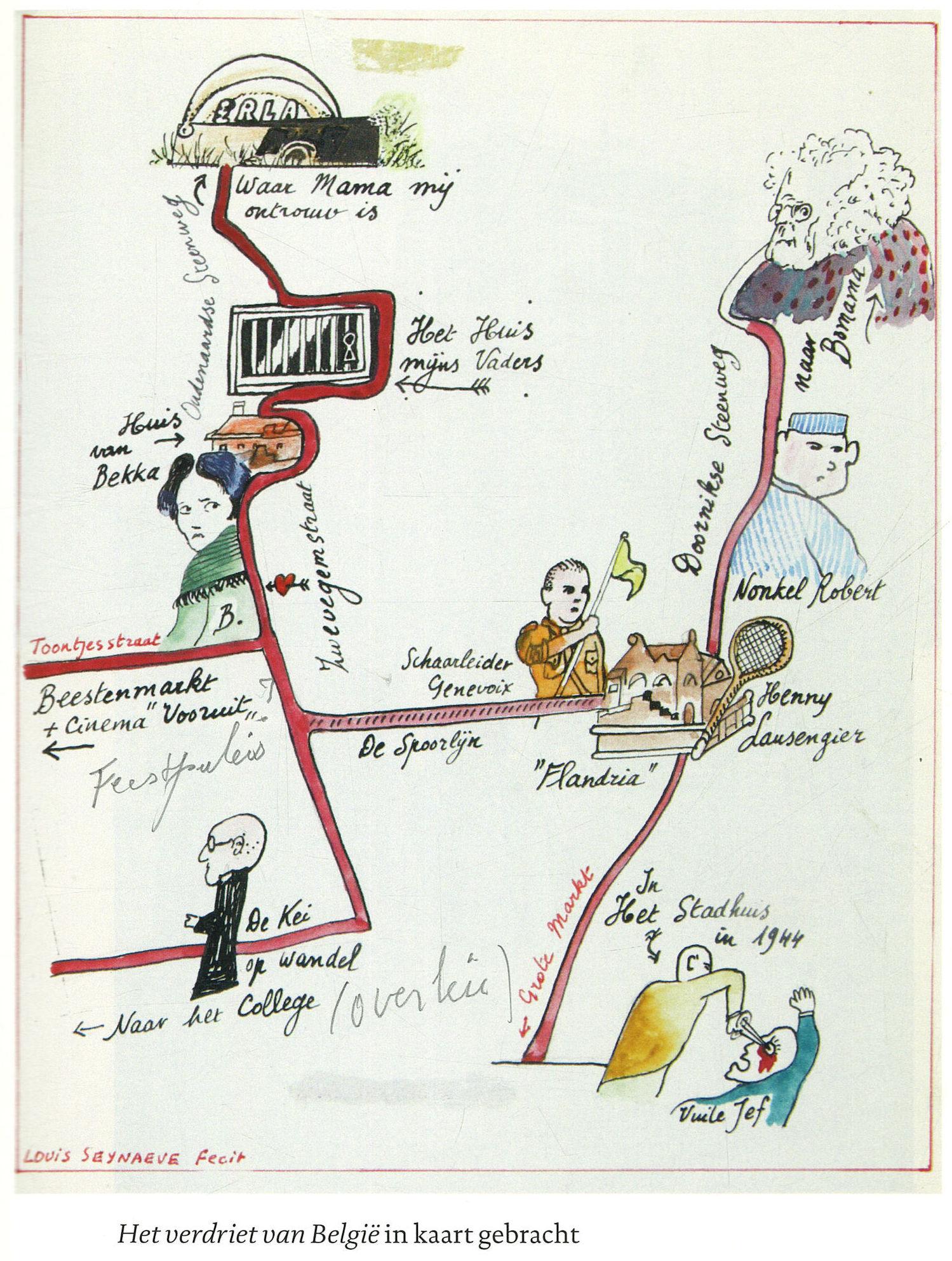 """Hugo Claus en """"Het Verdriet van België"""""""