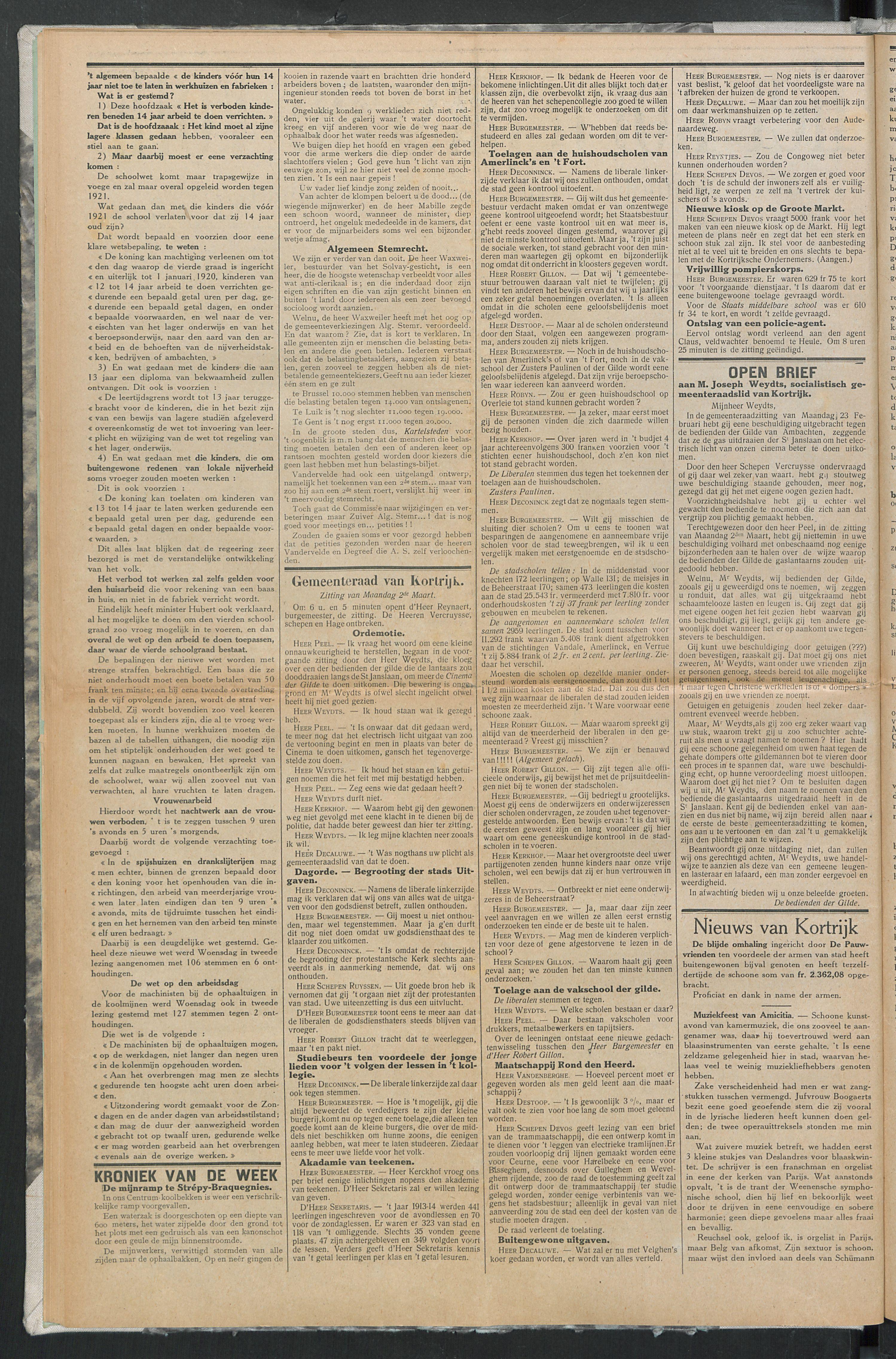 Het Kortrijksche Volk 1914-03-08 p2