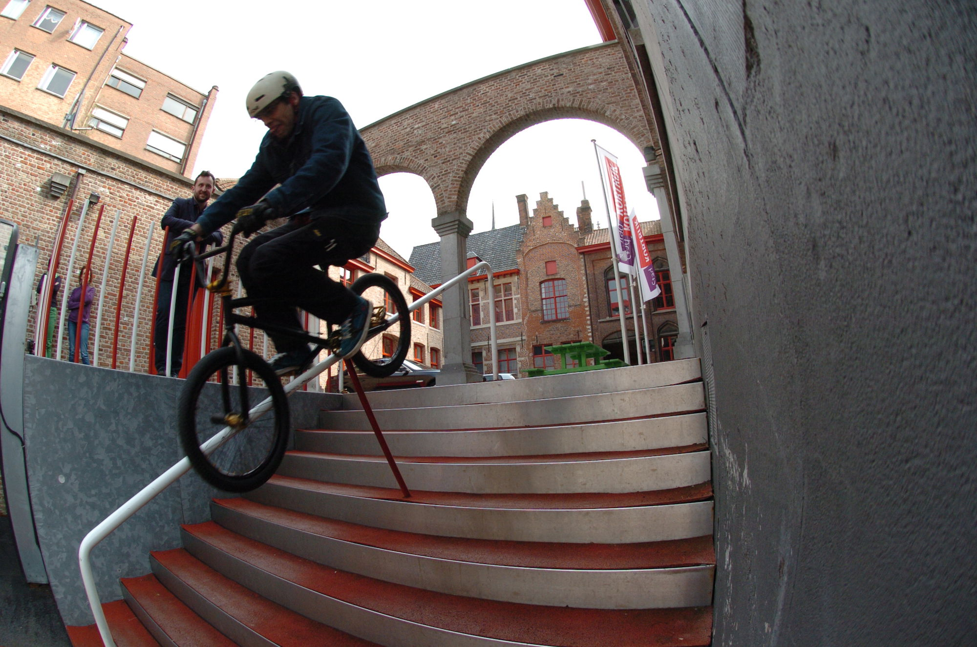 BMX rail Stadhuis Kortrijk
