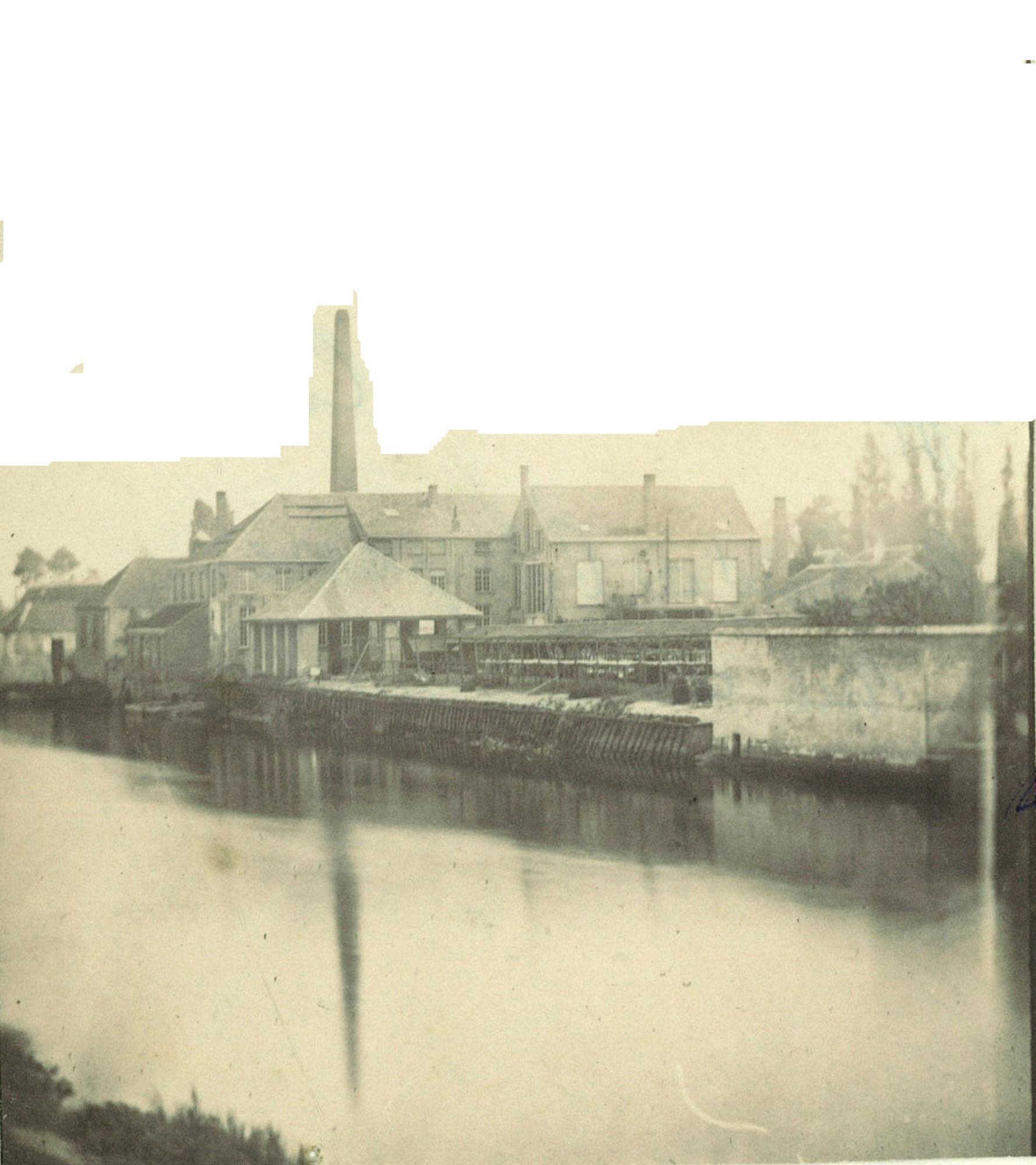 De fabrieken (blekerij) Auguste Benoit