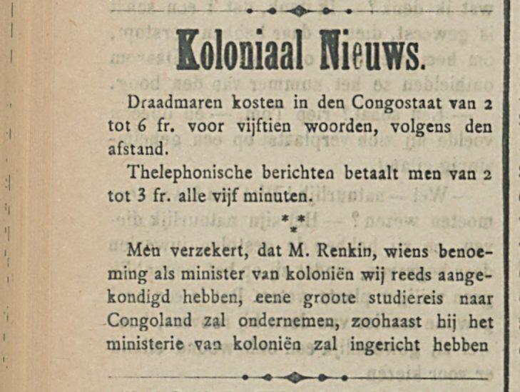 Koloniaal Nieuws