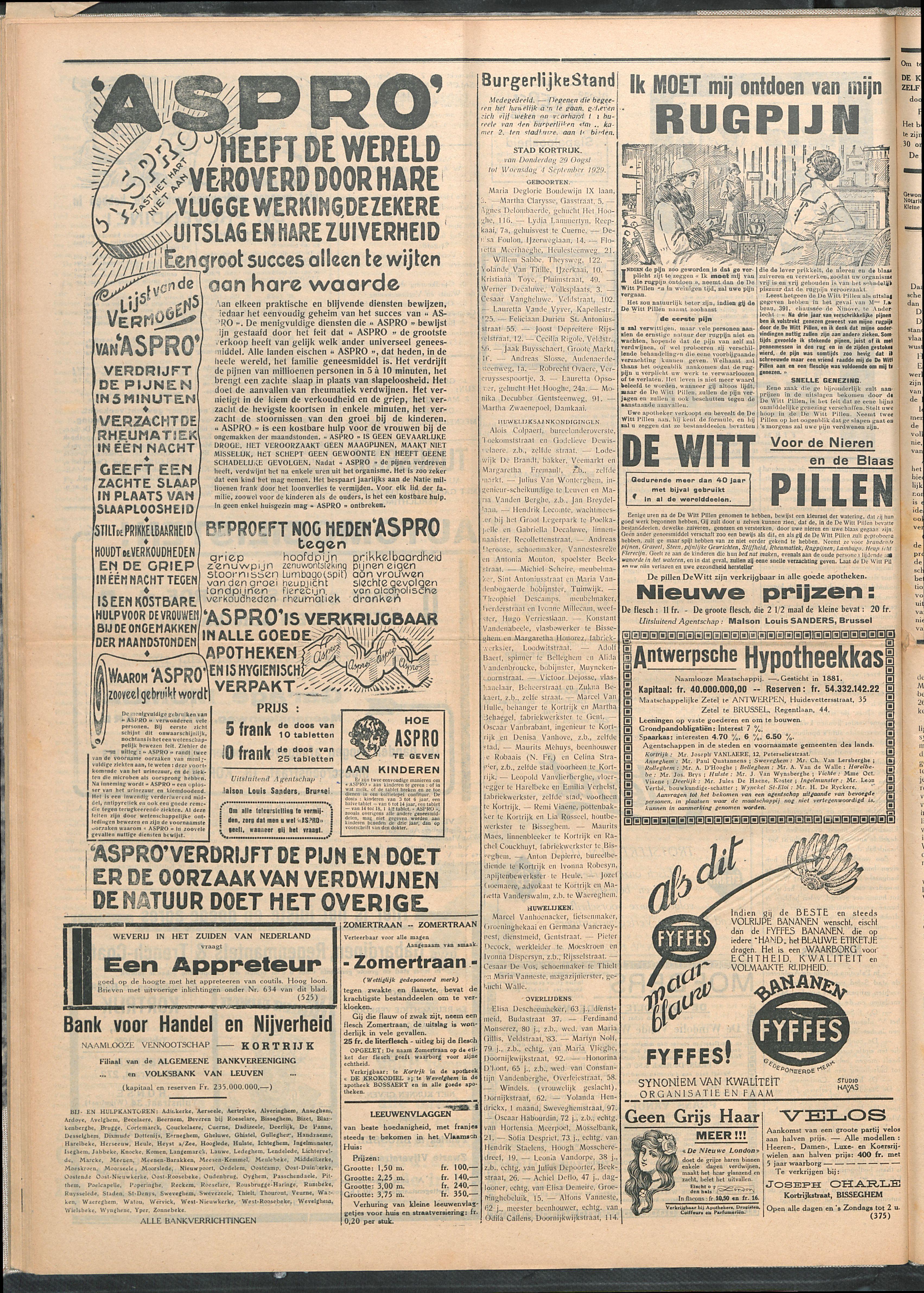 Het Kortrijksche Volk 1929-09-08 p4