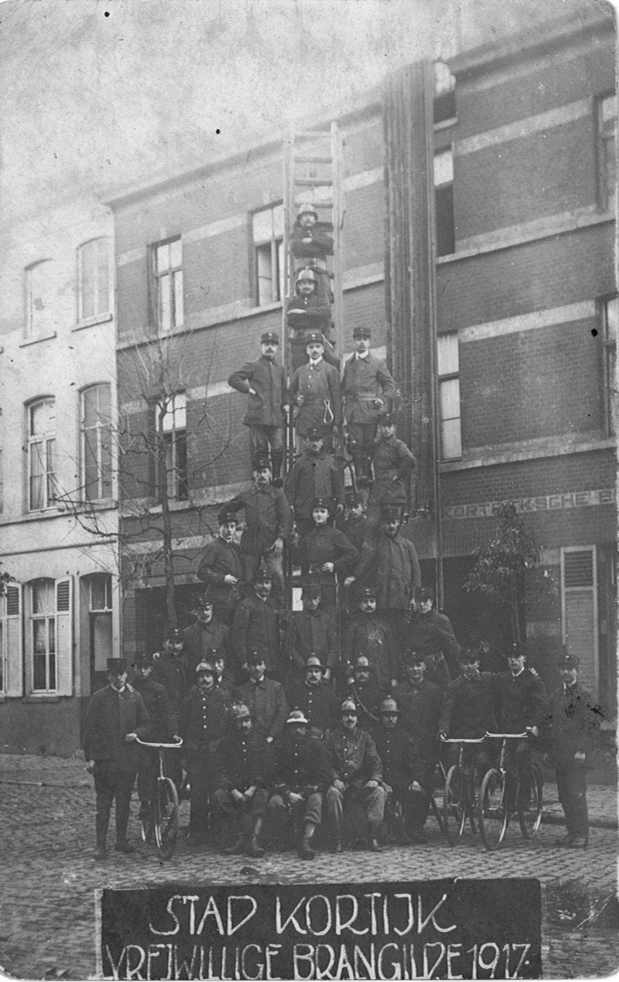 Brandweer 1917