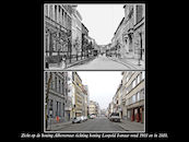 Koning Albertstraat ca 1903 en 2010