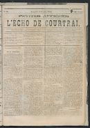 L'echo De Courtrai 1873-10-05