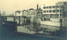 Leiebrug (noodbrug) 1947