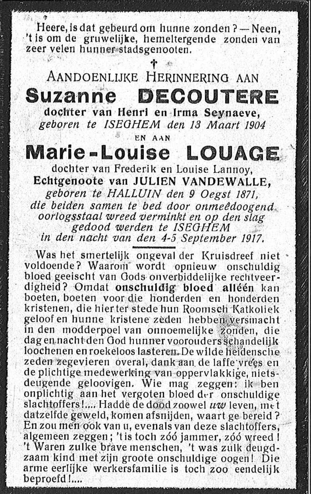 Marie-Louise Louage