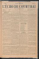 L'echo De Courtrai 1907-12-08
