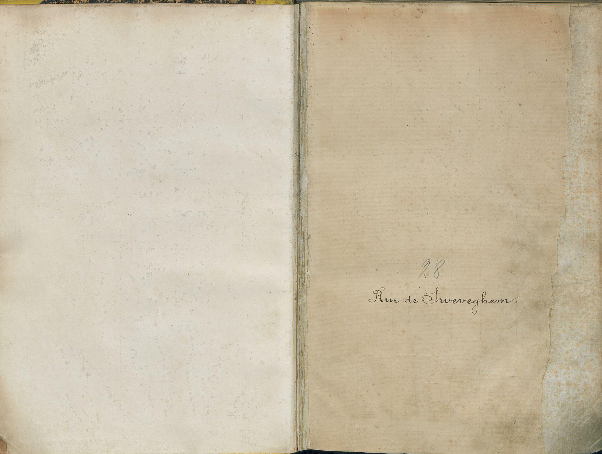 Bevolkingsregister Kortrijk 1890 boek 28