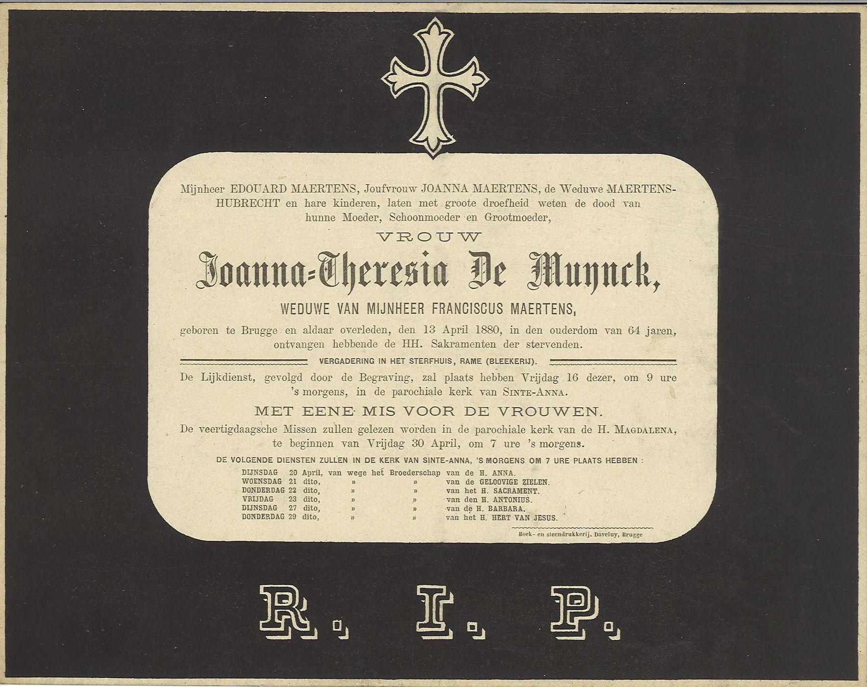 Joanna-Theresia De Muynck
