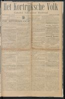 Het Kortrijksche Volk 1914-07-05 p1