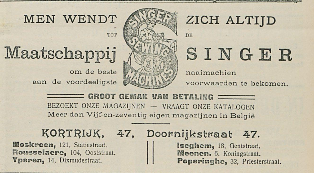 Maatschappij SINGER