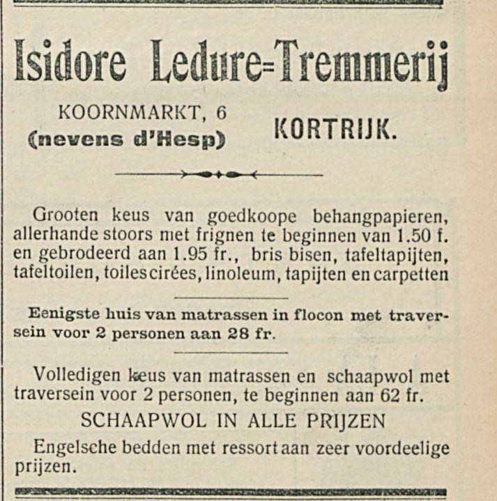 Isidore Ledure Tremmerij