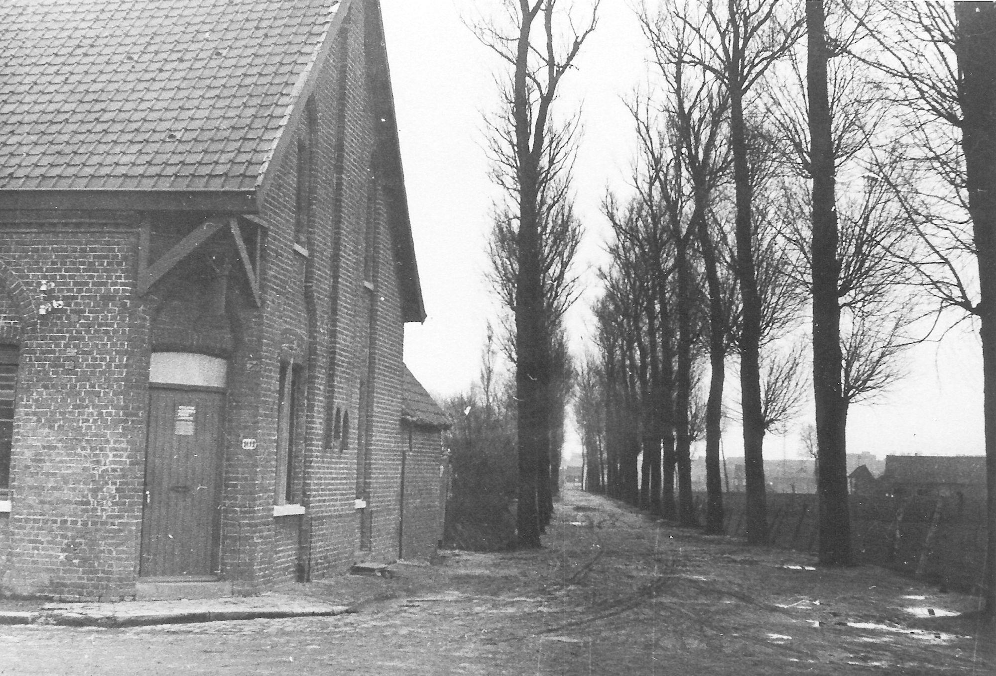 Rode Dreef-Rekkemsestraat anno 1945
