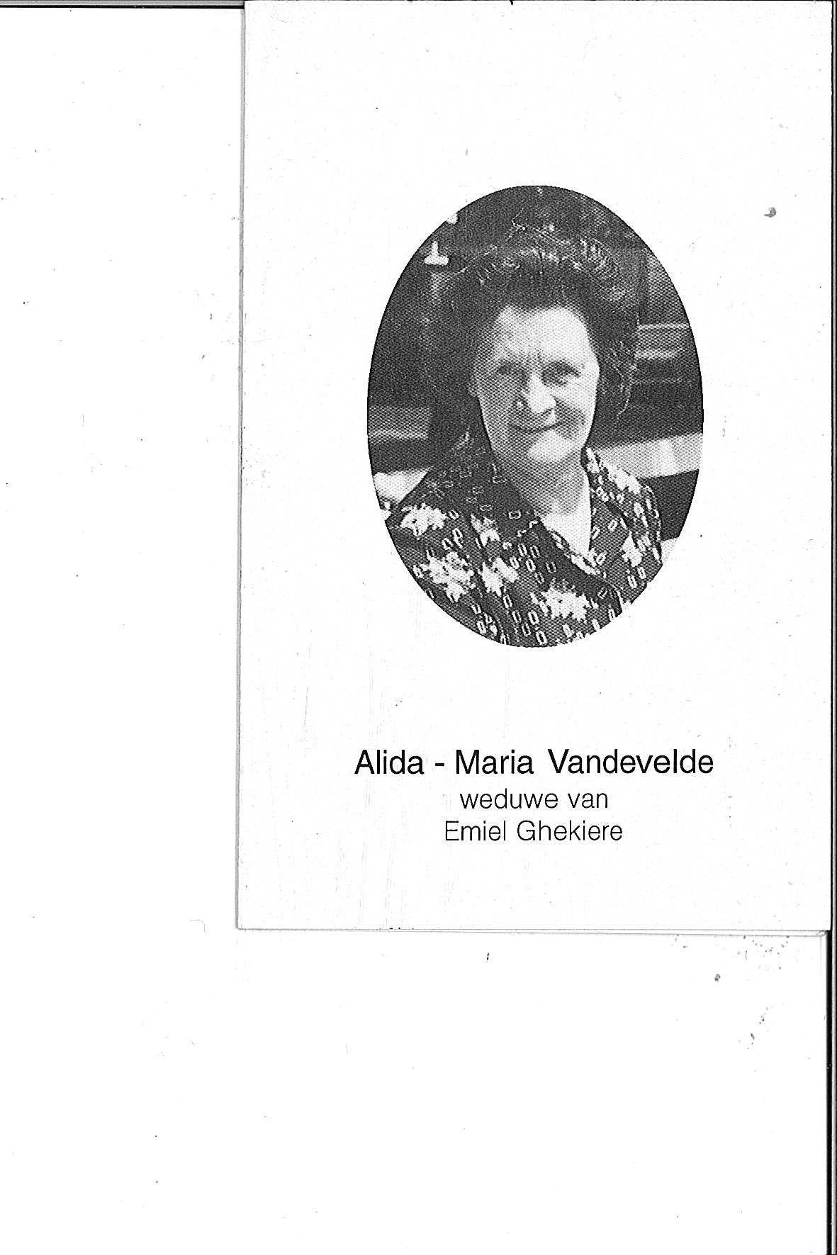 Vandevelde Alida-Maria