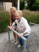 Sabine Detremmerie en Heidi Blechschmidt