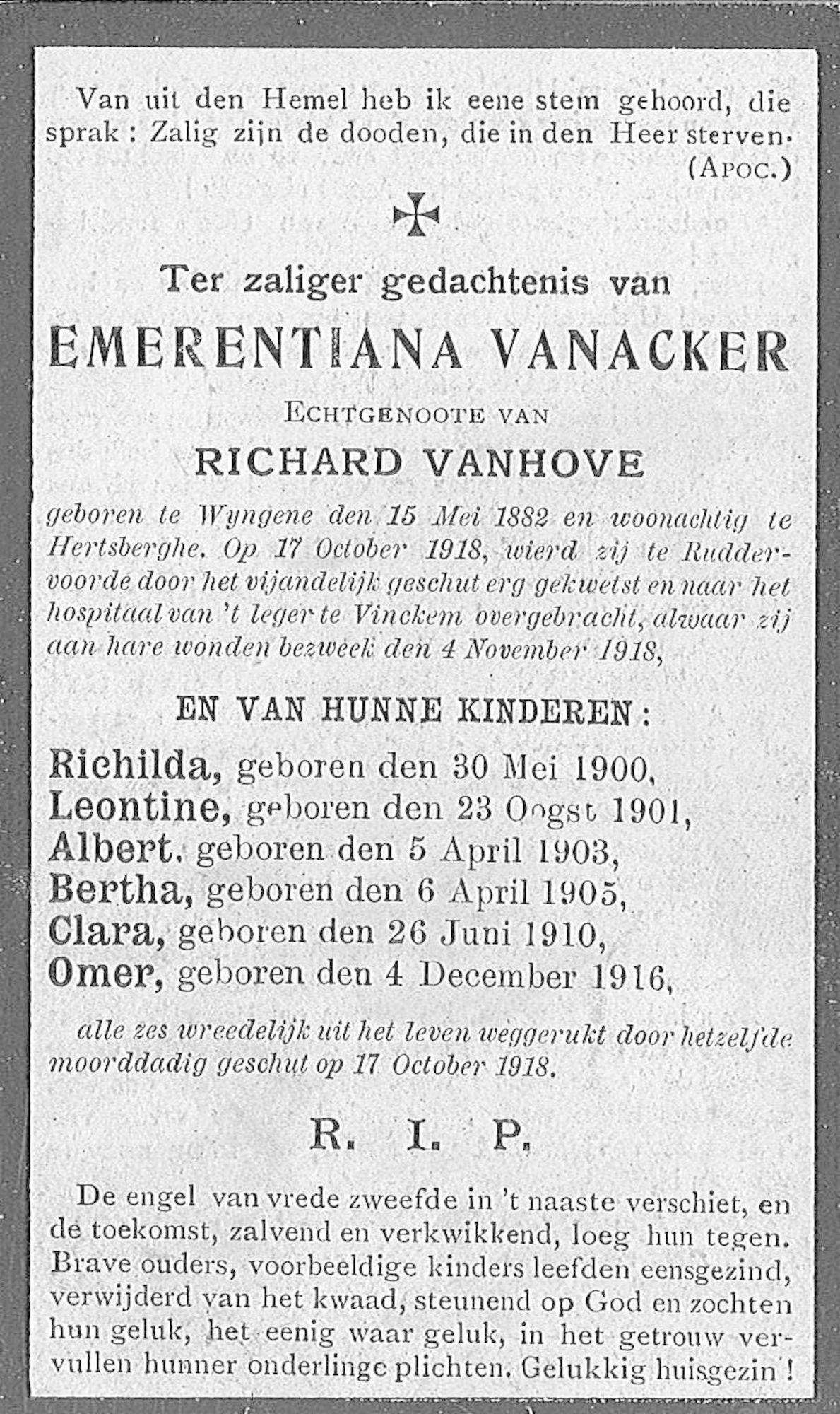 Emerentia Vanacker