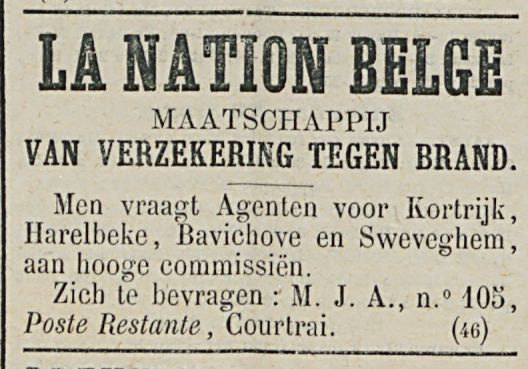 LA NATION BELGE