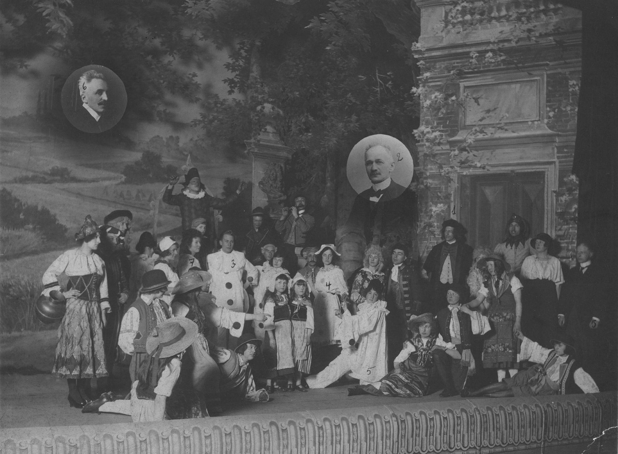 La Jeune Garde Catholique in 1922