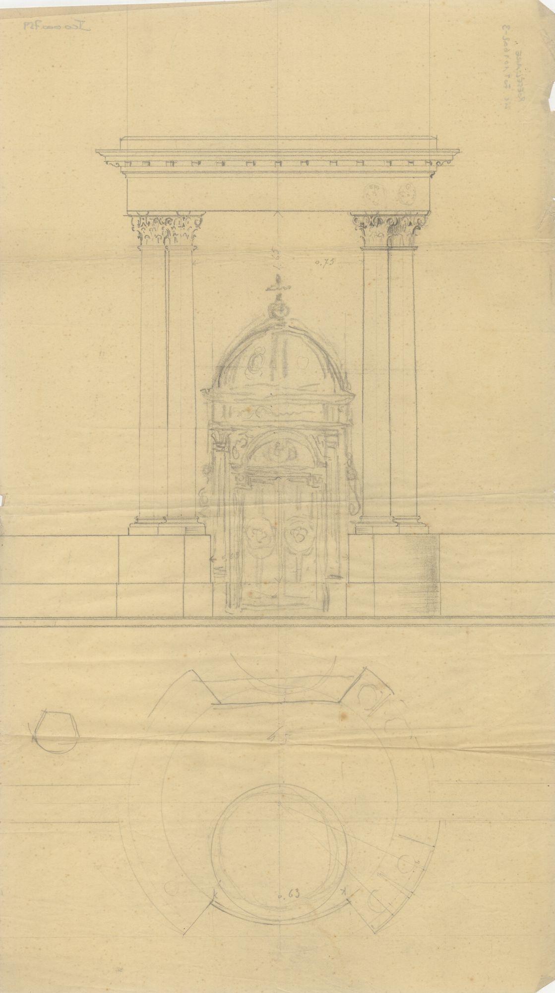 Westflandrica - ontwerp van een altaar