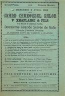 Paasfoor 1902: Palais Louis XV van Grand Carrousel-Salon de Ve Xhaflaire & Fils