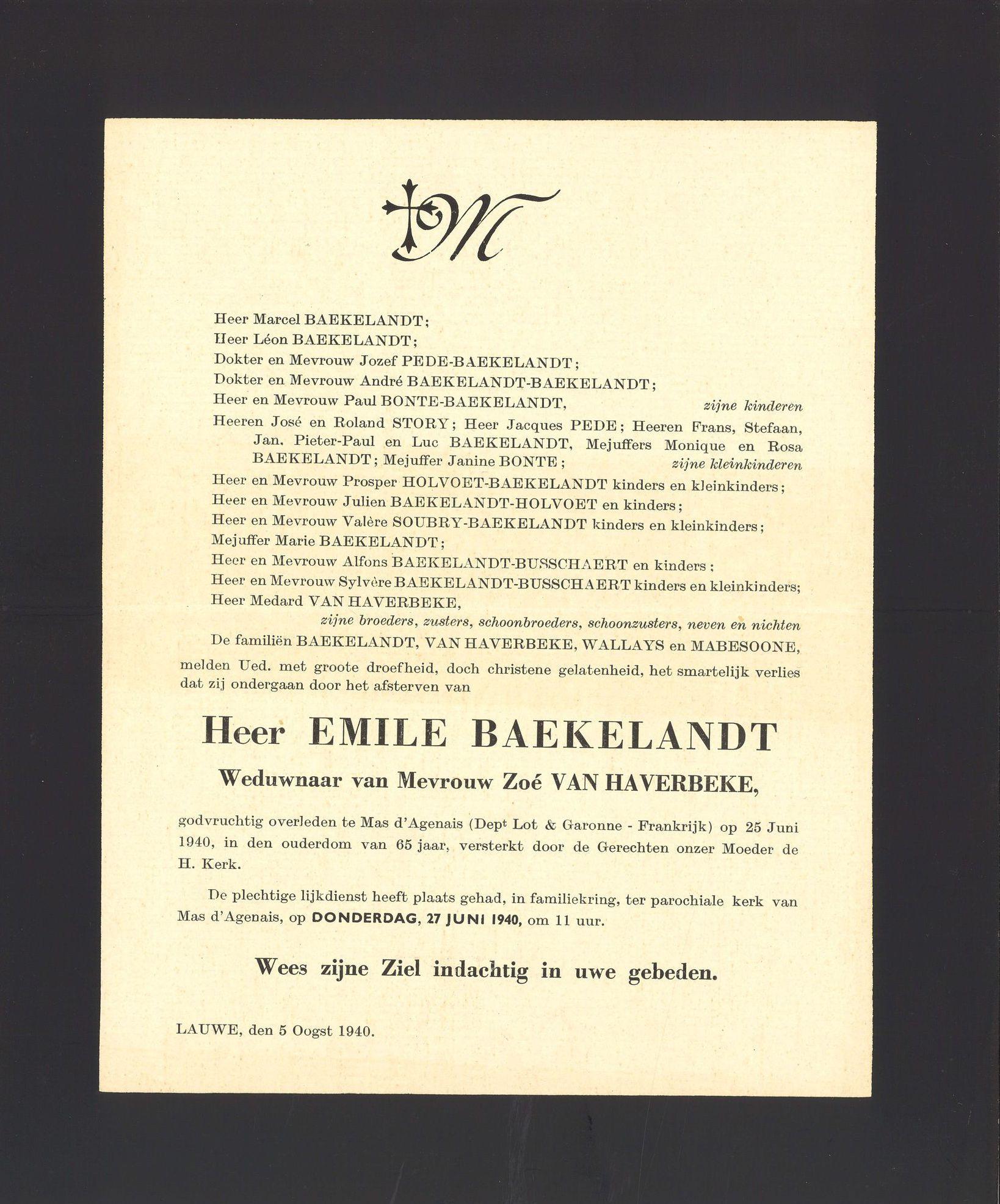 Emile Baekelandt