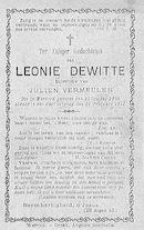 Leonie Dewitte