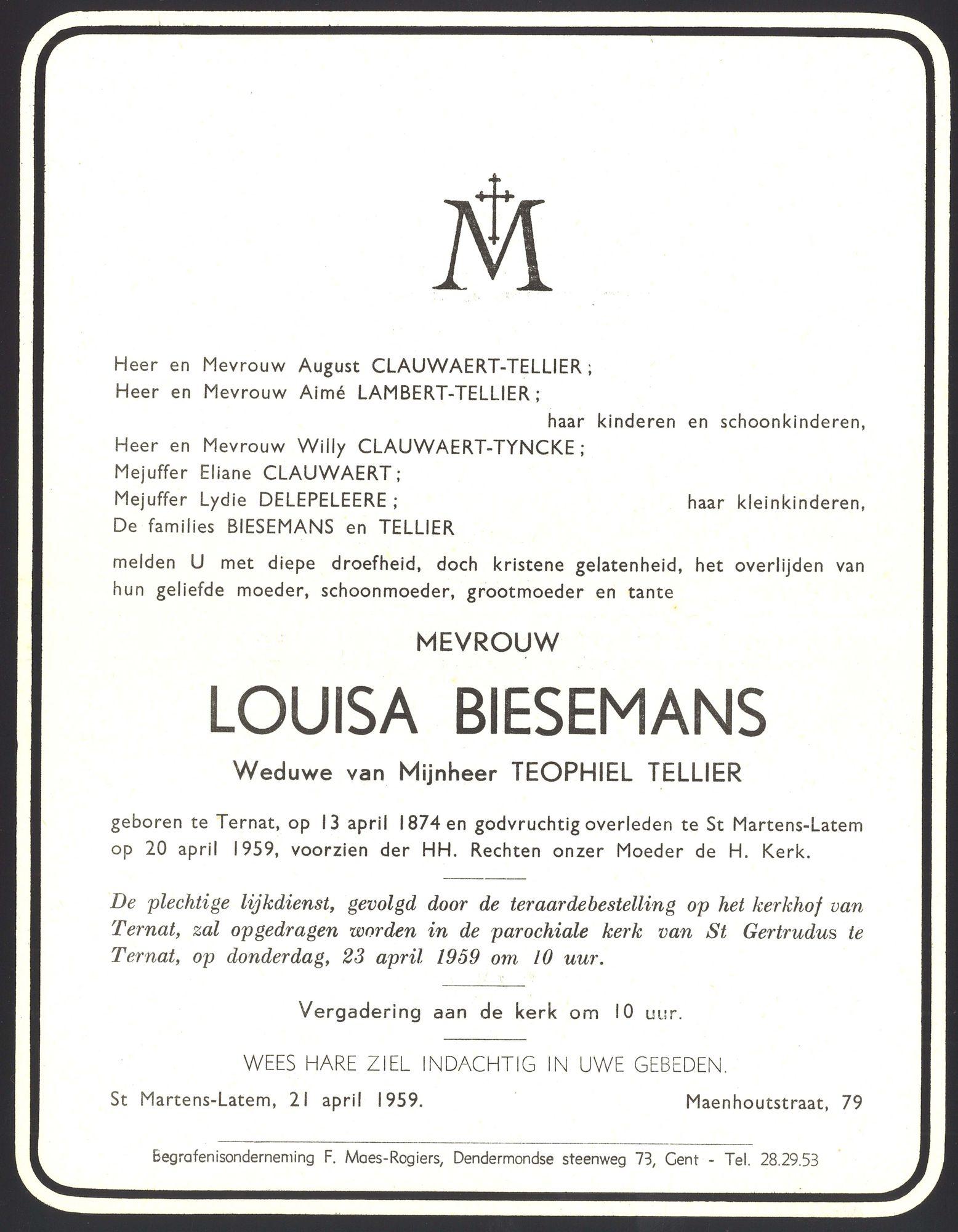 Louisa Biesemans