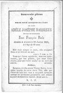 Adèle Josèphine Barbieur
