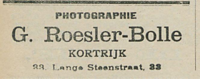 G Roesler Bolle