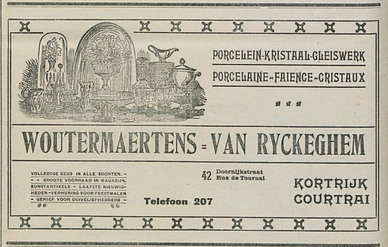 WOUTERMAERTENS VAN RYCKEGHEM