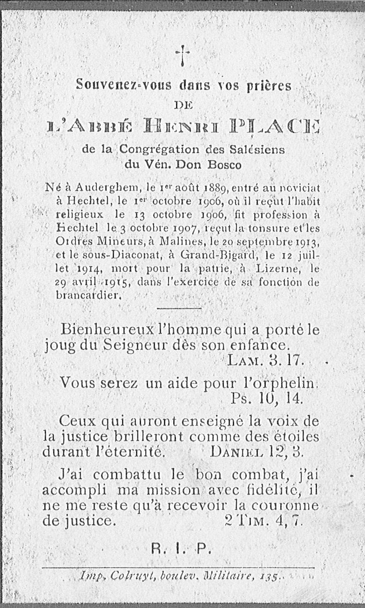 Henri Place