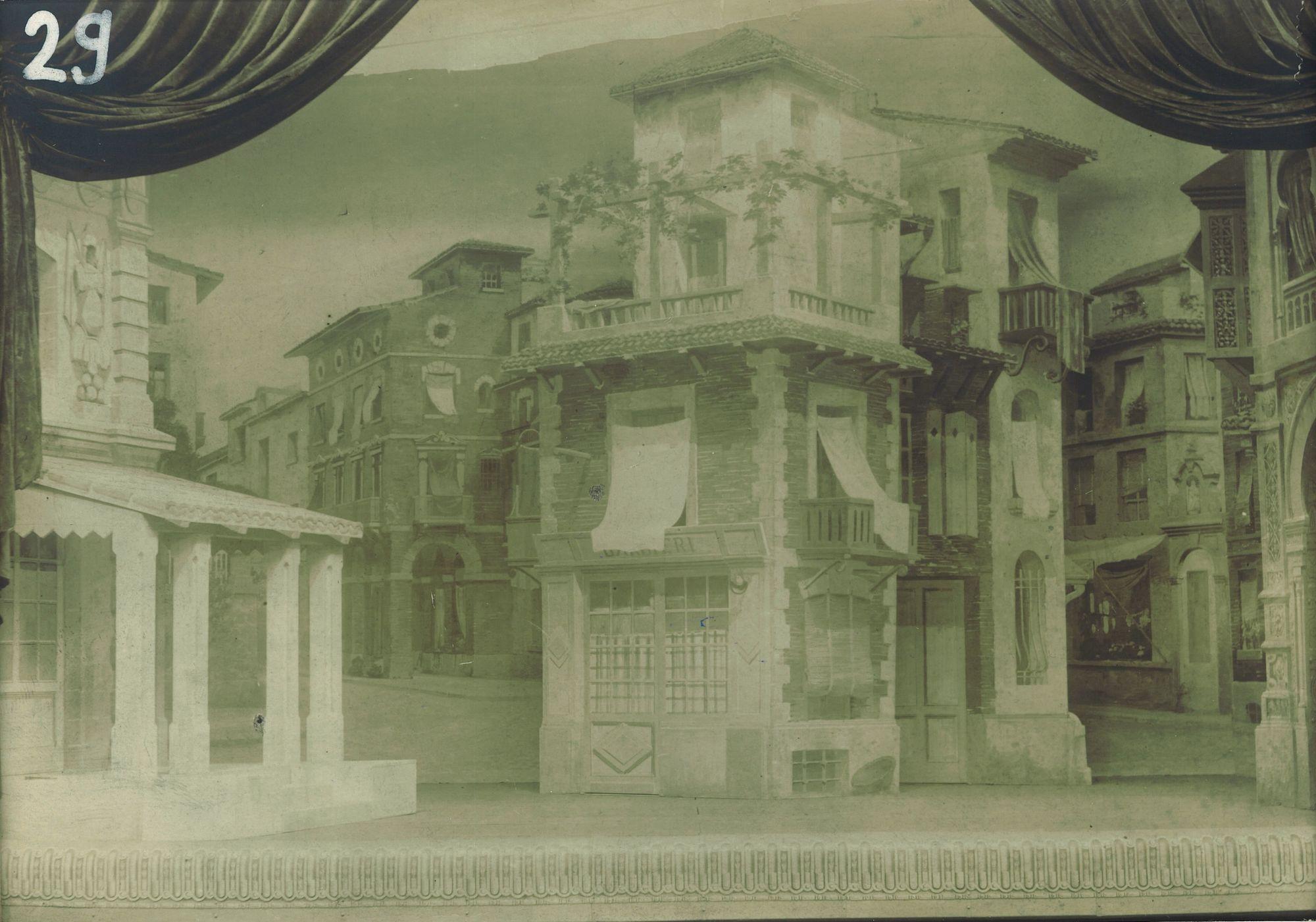 Place publique italo-espagnol