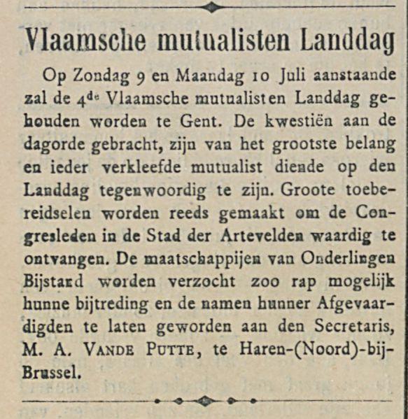 Vlaamsche mulualisten Landdag