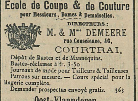 Ecole de Coupe and de Couture