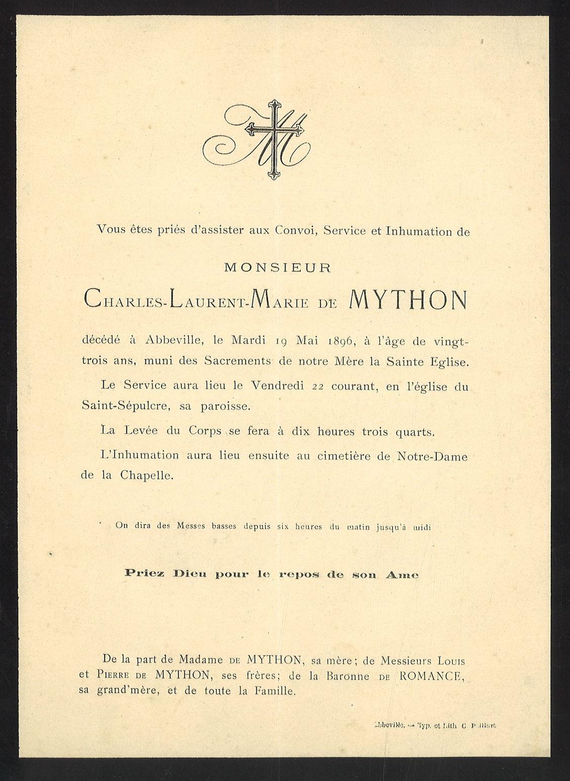Charles-Laurent-Marie de Mython