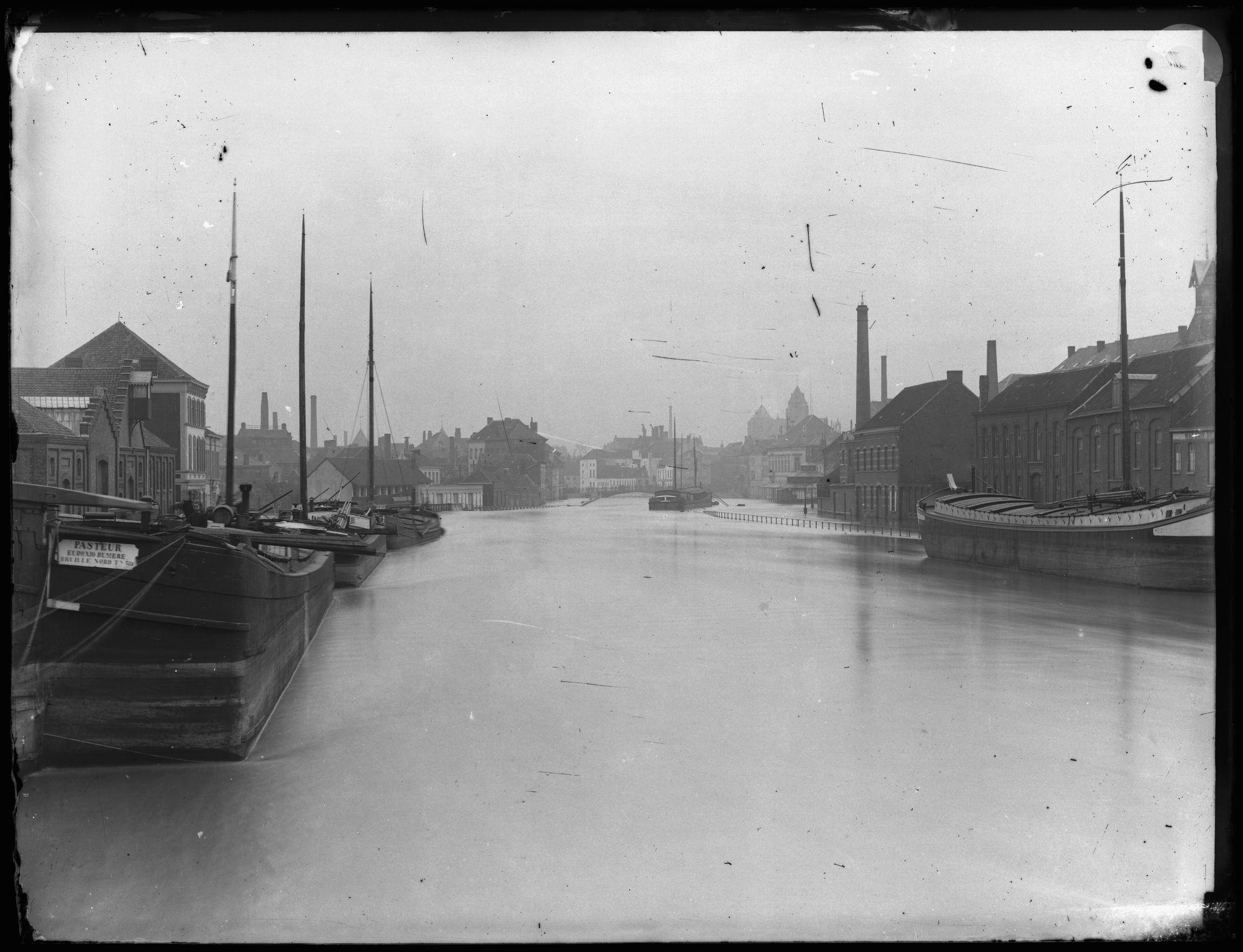 Overstroming van de Leie na 1882