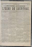 L'echo De Courtrai 1875-05-13