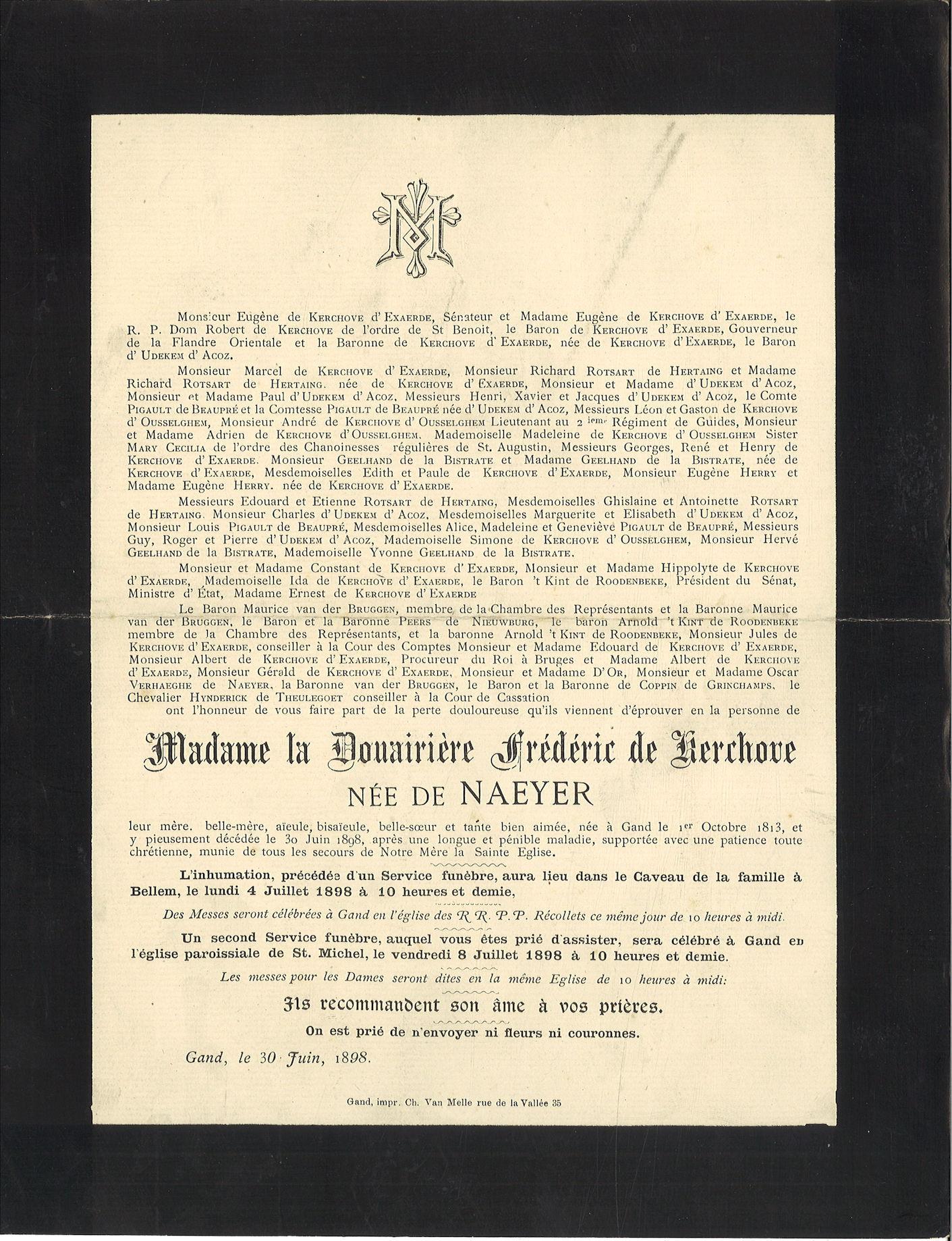 Frédéric de Kerckhove de Nayer
